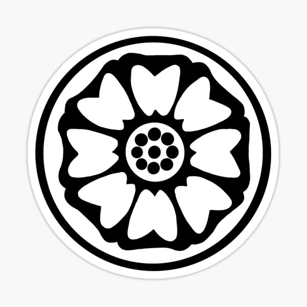 Lotus Tile Stickers Redbubble