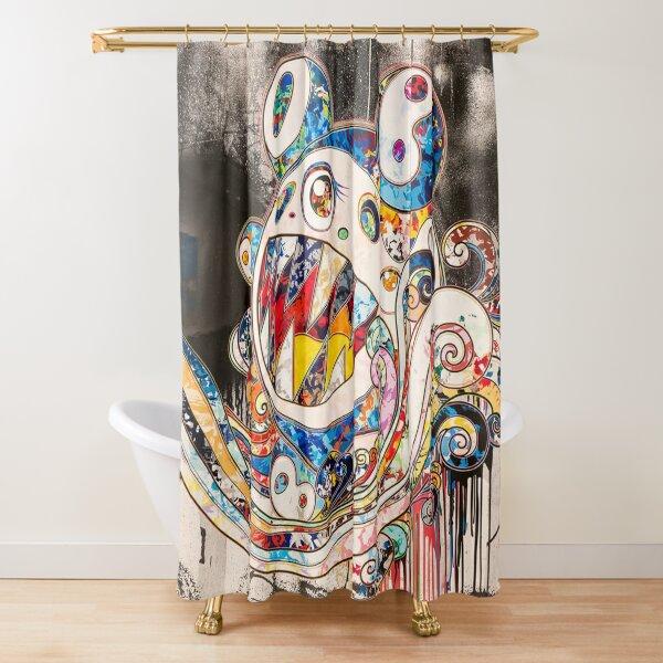 Takashi Murakami - Mirrored Reality Shower Curtain
