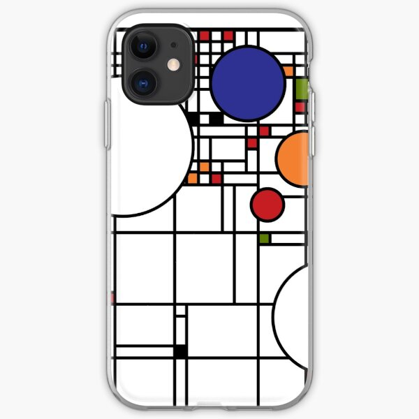 Frank Lloyd Wright Window Print iPhone Soft Case