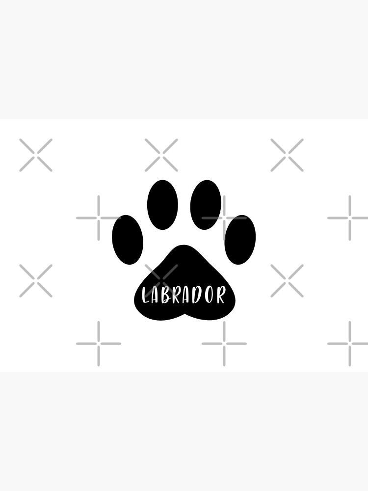 Labrador Paw Print Seal by chanzds