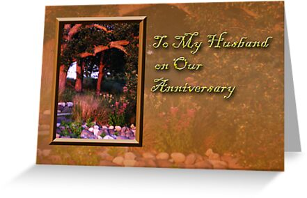 To My Husband On Our Anniversary Woods by jkartlife
