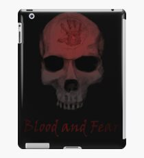 Blood and Fear iPad Case/Skin