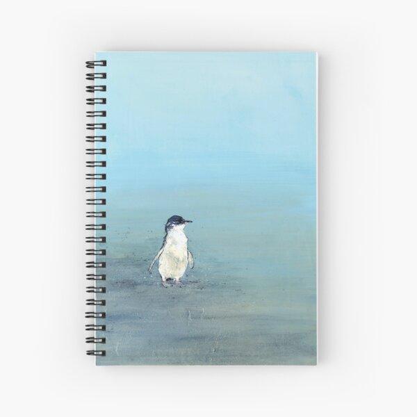 Lost Penguin Wall Art Spiral Notebook