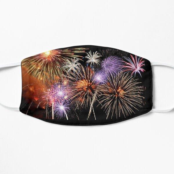 Fireworks Flat Mask