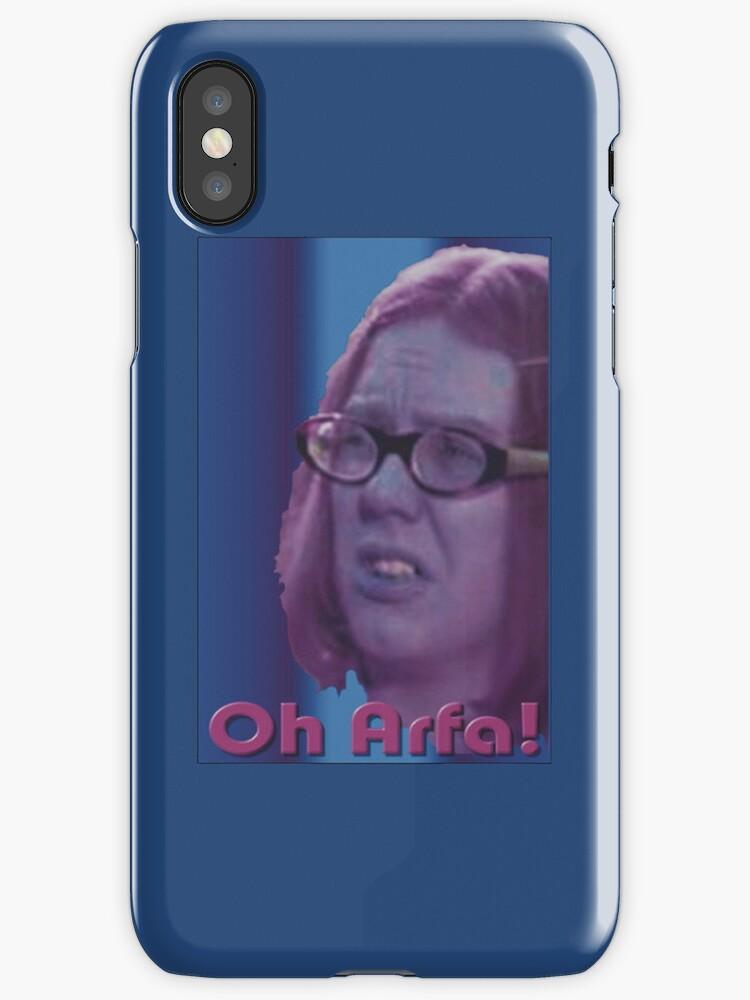 Oh Arfa - I-Phone/Ipod case by DreddArt