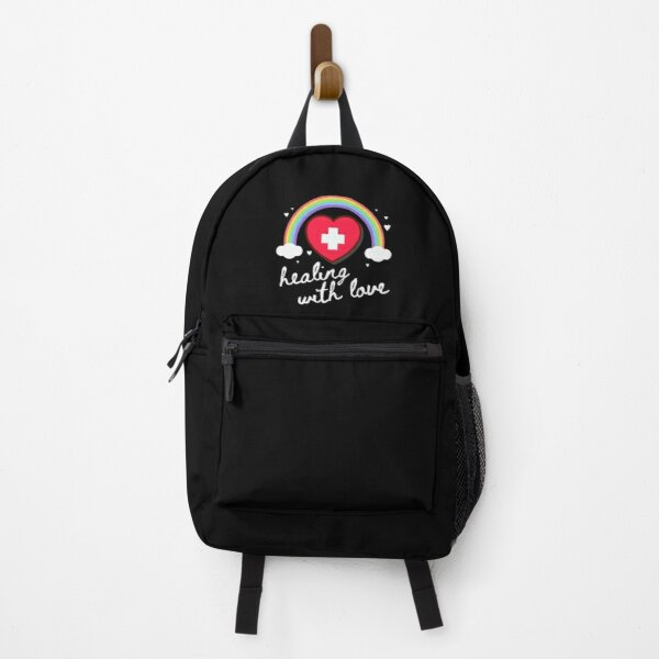 Nurse Healing With Love Backpack