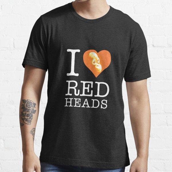 I heart (love) redheads Essential T-Shirt