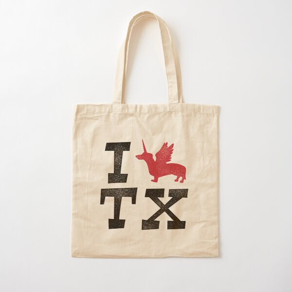 I DOXIE TEXAS Cotton Tote Bag