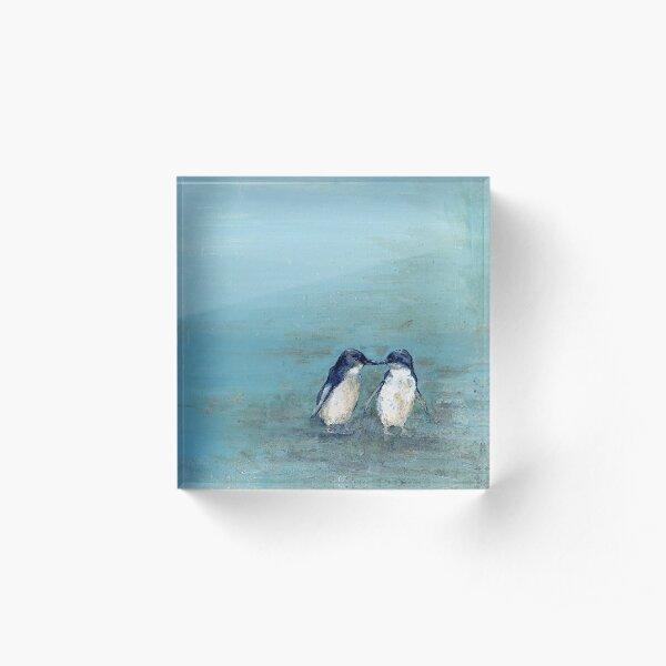 Found Penguin Wall Art Acrylic Block