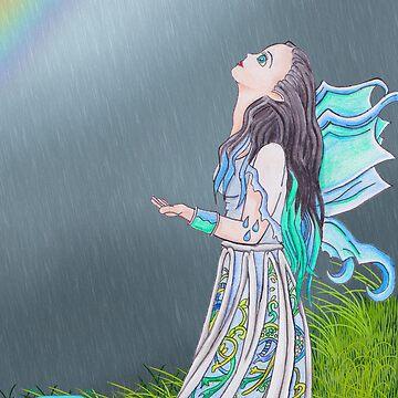 Element Pixie Series- Rain by Chukii