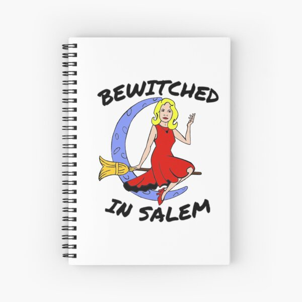 BEWITCHED IN SALEM Spiral Notebook