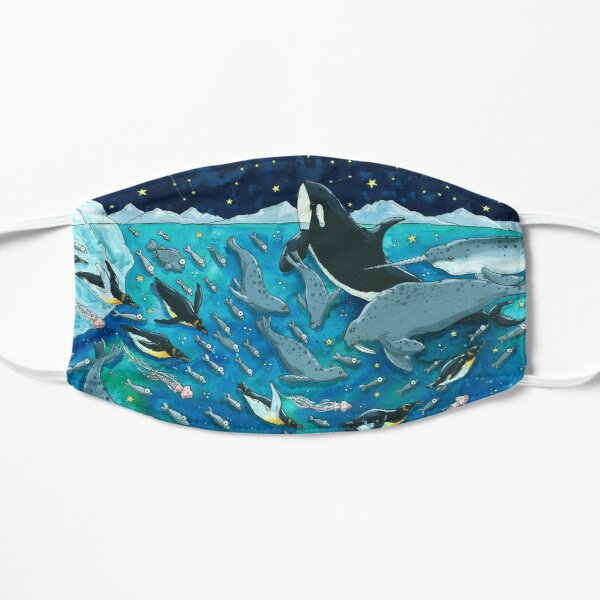 Under the Sea Art, Underwater Sea Life, Arctic Mask