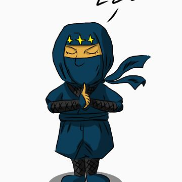 The Sleeping Ninja by gailkun