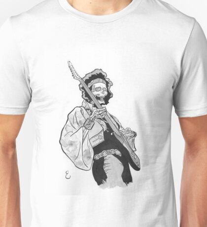 Ghost of Jimi Hendrix T-Shirt