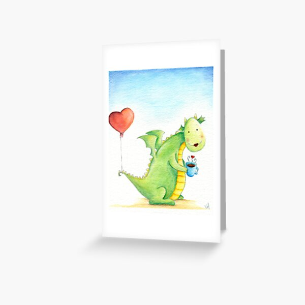 On our date Greeting Card