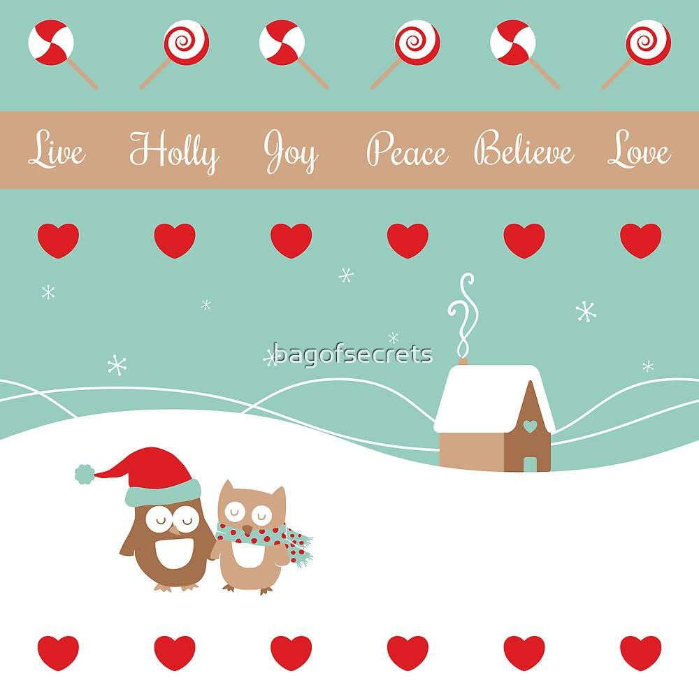 Enjoy The Season (illustration only) by bagofsecrets