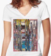 Vertical Horizon Women's Fitted V-Neck T-Shirt