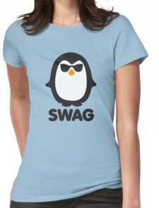 SWAG Pinguin Womens Fitted T-Shirt