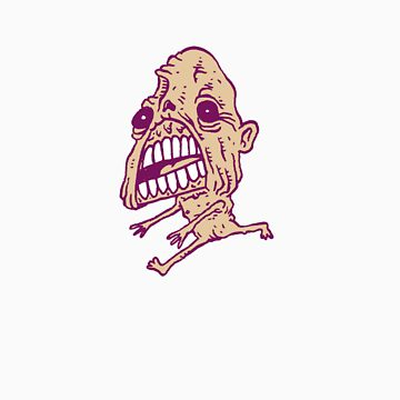 Lil Purple Zombie by Xandford