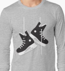 Ice hockey skates Long Sleeve T-Shirt