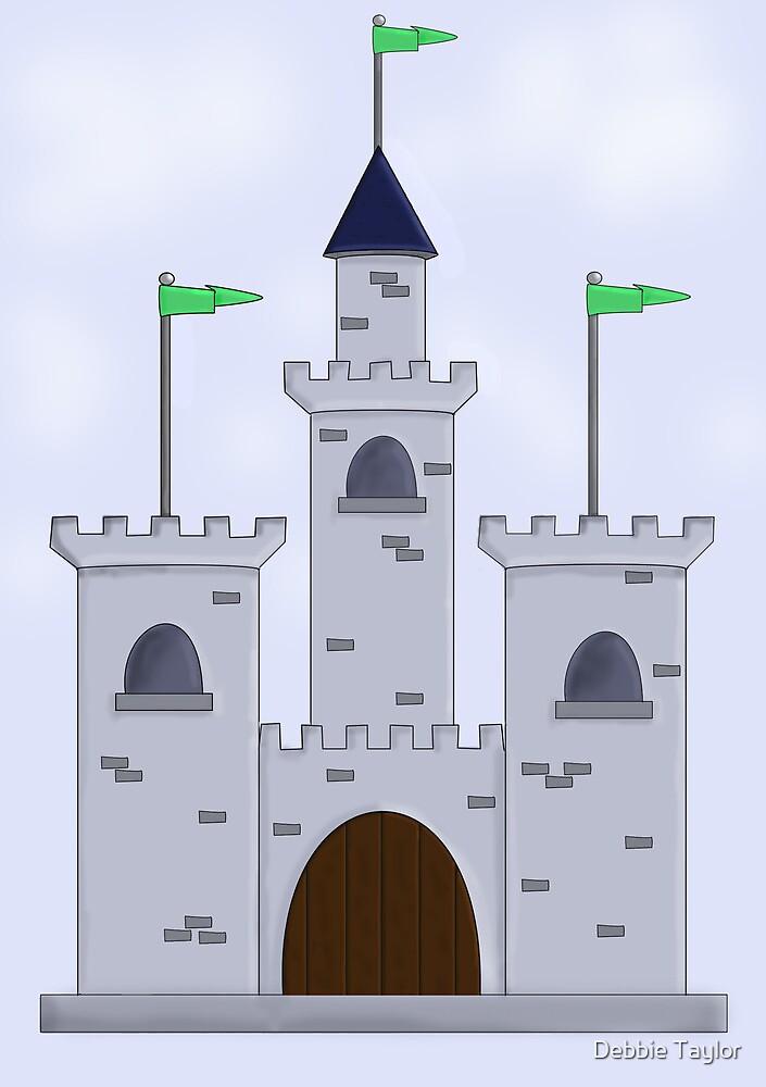 Cartoon Castle by Debbie Taylor