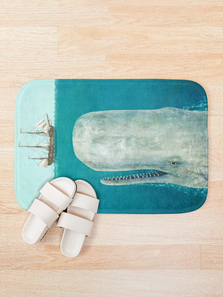Alternate view of The Whale  Bath Mat