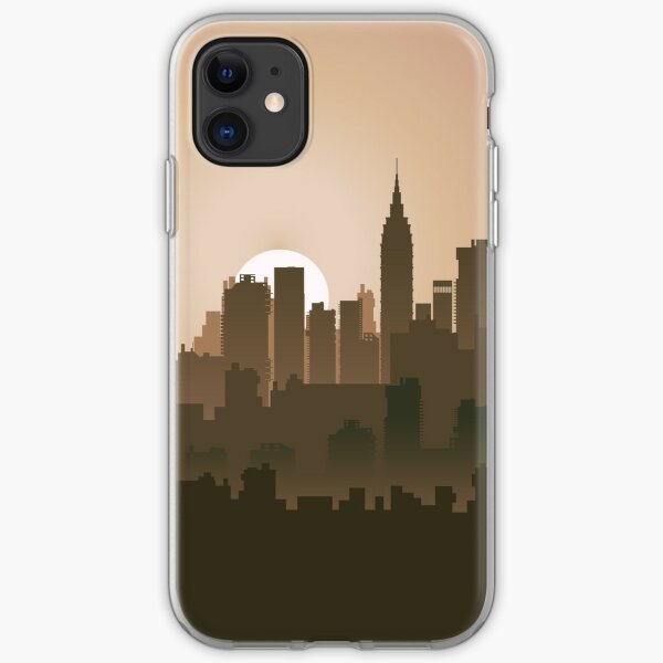 Picture of the city for iPhone iPhone Soft Case