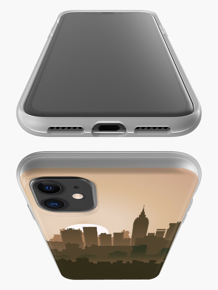 Alternate view of Picture of the city for iPhone iPhone Case & Cover