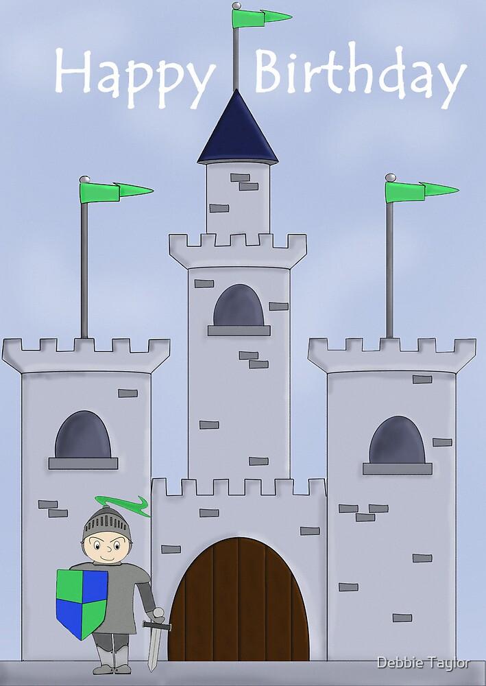 Sir Knight's Castle Birthday by Debbie Taylor
