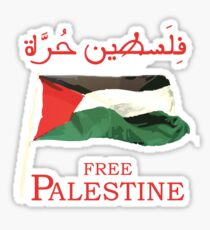 Free Palestine 2013 t shirts, stickers and cases Sticker