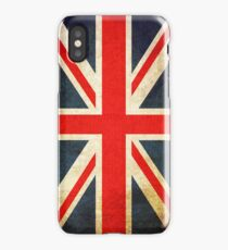 Grunge Effect Union Jack iPhone Case