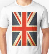 Grunge Effect Union Jack T-Shirt