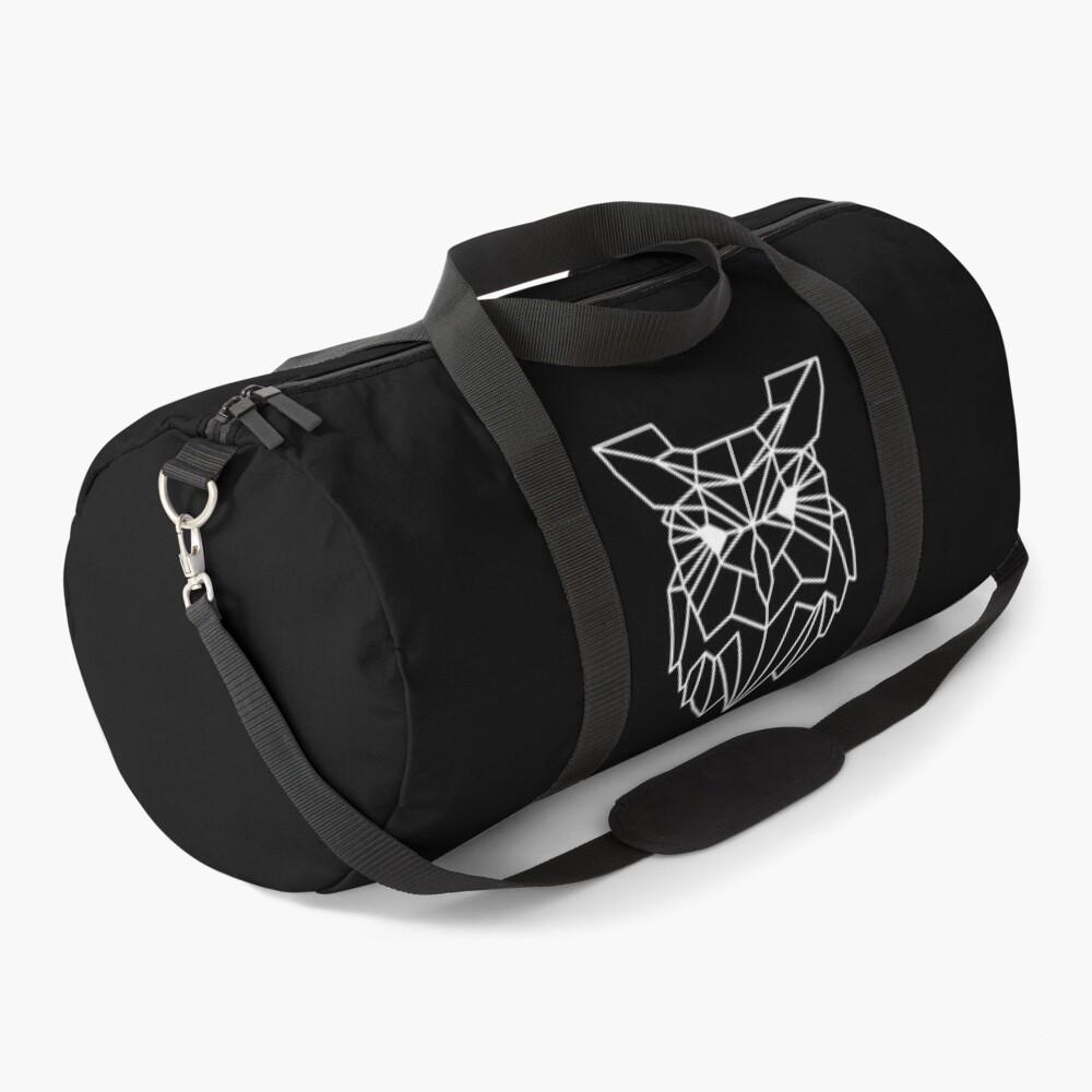 Polygonal Owl Duffle Bag