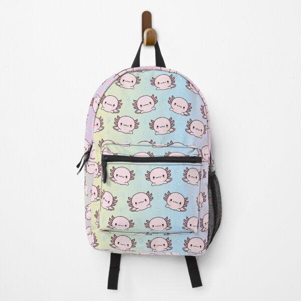 Cute Axolotl Backpack
