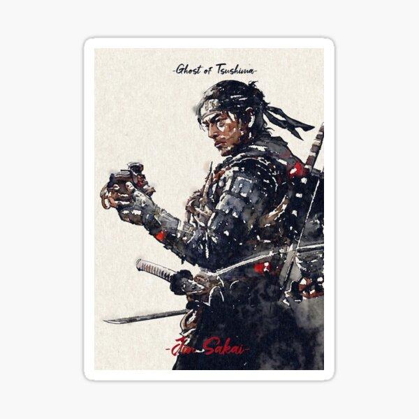 Jin Sakai Watercolor  Sticker