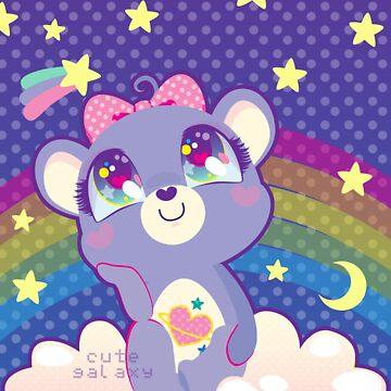 Daydream Bear by cutegalaxy