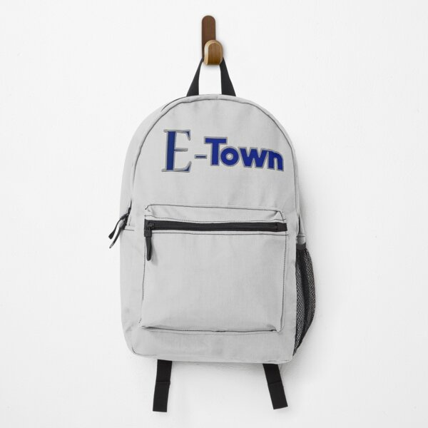 E Town or E-Town Backpack
