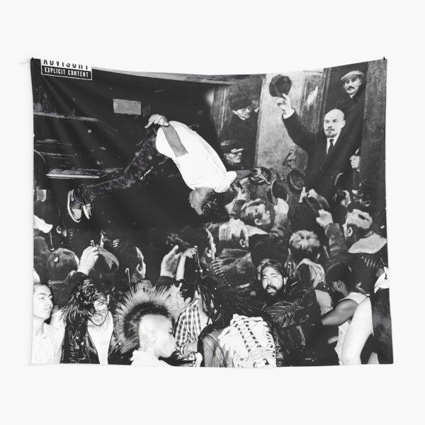 Die Lit Lenin Tapestry