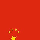 People's Republic of China Flag by pjwuebker