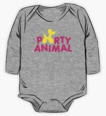 Party Animal One Piece - Long Sleeve