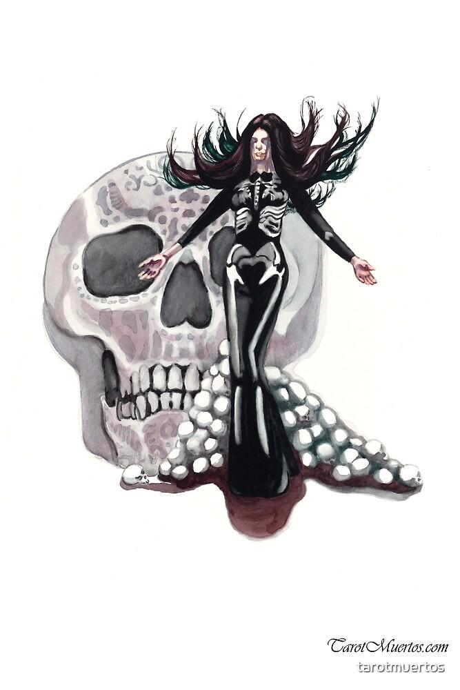 High Priestess - Tarot - La Sacerdotisa  by tarotmuertos