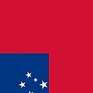 Samoa Flag by pjwuebker