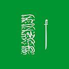 Saudi Arabia Flag by pjwuebker