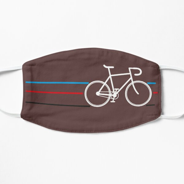 Bike Stripes Velodrome T-shirt Flat Mask