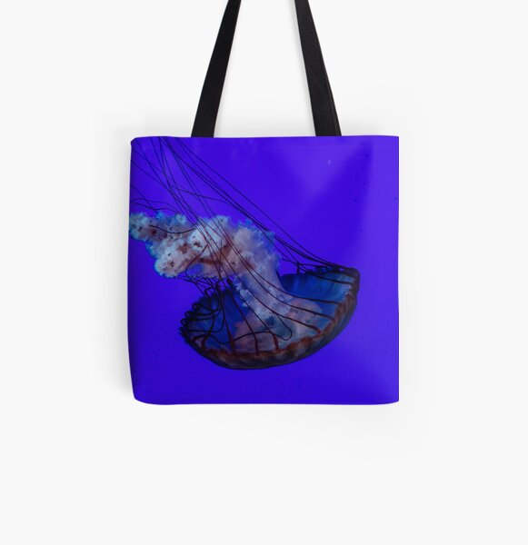 Floating Jellyfish All Over Print Tote Bag