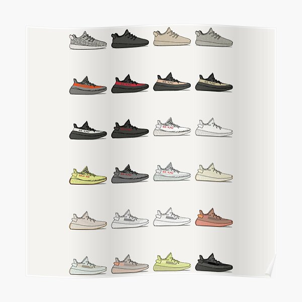 Sneaker New 350 Collection 2019 Poster