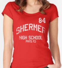 Shermer High School Phys. Ed. Women's Fitted Scoop T-Shirt