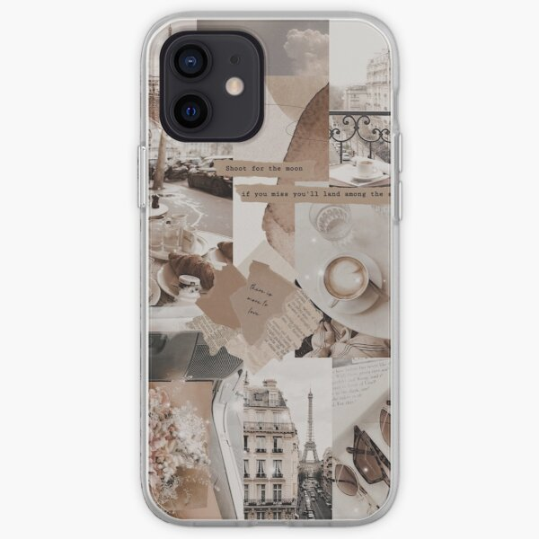 aesthetic collage iPhone Soft Case