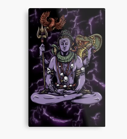 Mythical Witch Doctor Metal Print