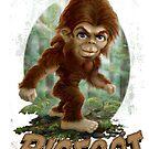 Mommy's Lil' Bigfoot by MudgeStudios